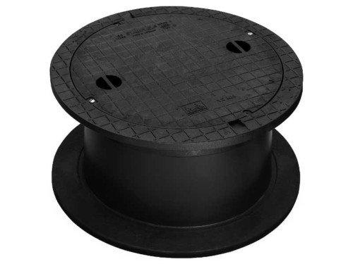 Stabiflex Schachtabdeckung aus Kunststoff NewEdition Teleskop 15kN